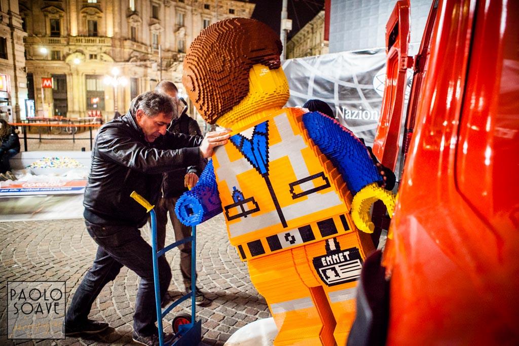 Installazione Lego Milano Cordusio