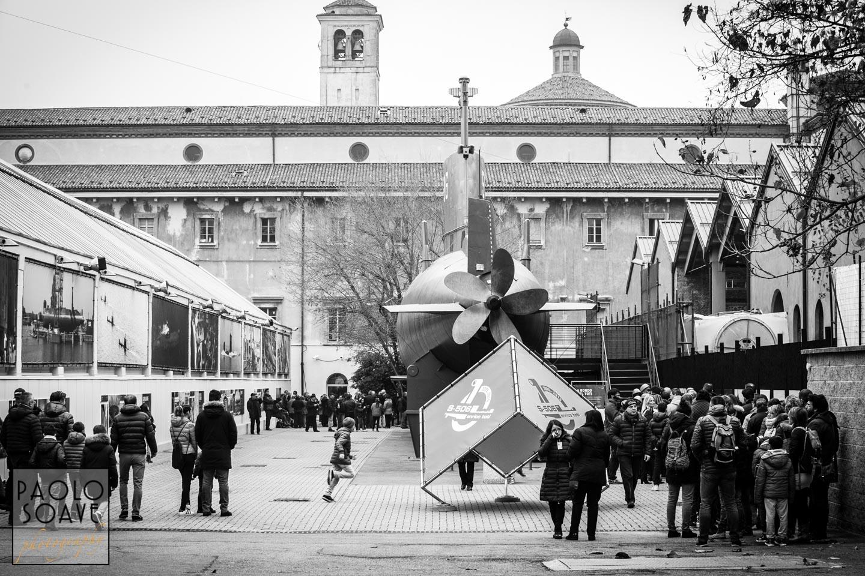 Sottomarino Toti 10 anni a Milano